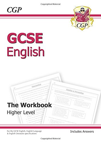 GCSE English Workbook (Including Answers) by CGP Books