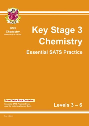 KS3 Chemistry Topic-Based SATs Practice Multipack - Levels 3-6 By CGP Books