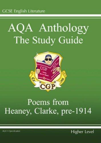 GCSE English Literacy AQA Anthology By CGP Books