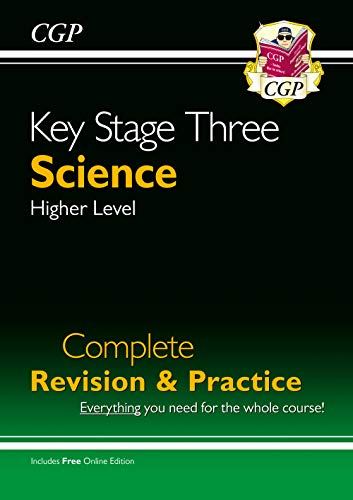 KS3 Science Complete Study & Practice (with Online Edition) by CGP Books