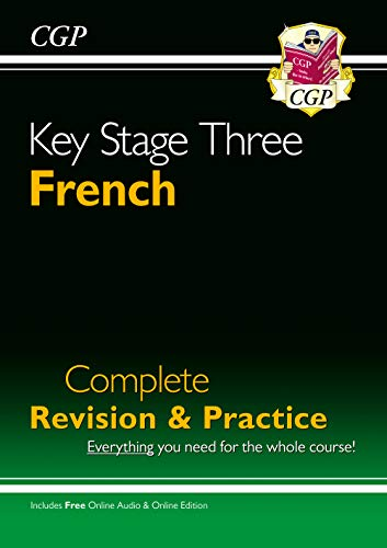 KS3 French Complete Revision and Practice with Audio CD By CGP Books