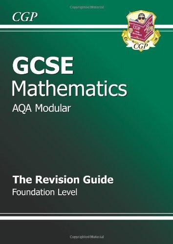 GCSE Maths AQA Modular Revision Guide - Foundation by Richard Parsons