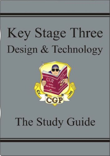 KS3 Design & Technology Study Guide (CGP KS3 D&T) By CGP Books