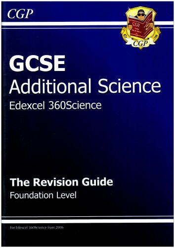 GCSE Additional Science Edexcel Revision Guide - Foundation by CGP Books