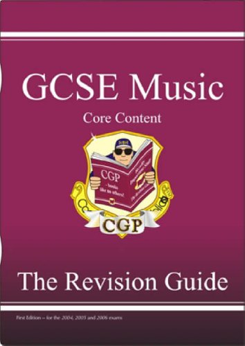 GCSE Core Content Music Revision Guide (music Theory) By CGP Books