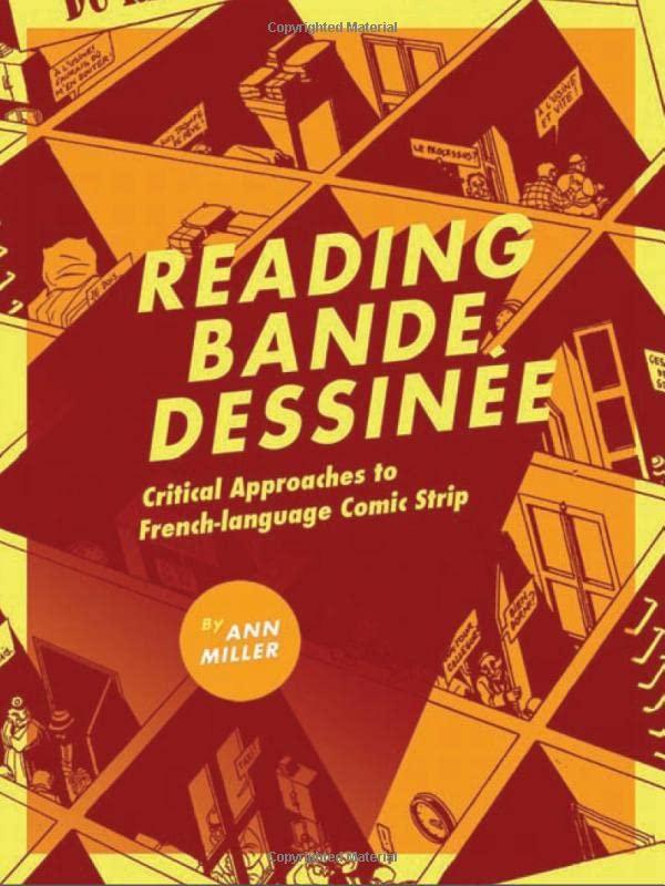 Reading bande dessinee By Ann Miller
