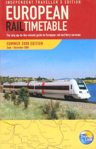 European Rail Timetable By Thomas Cook Publishing