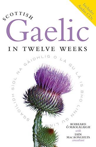 Scottish Gaelic in Twelve Weeks (plus audio CD) By Roibeard O Maolalaigh