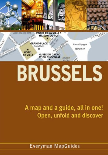 Brussels City MapGuide By Everyman
