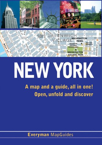 Everyman MapGuide to New York (Everyman MapGuides) Edited by Clemence Jacquinet