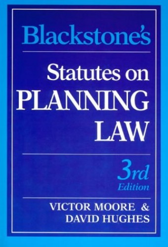 Statutes on Planning Law By David Hughes