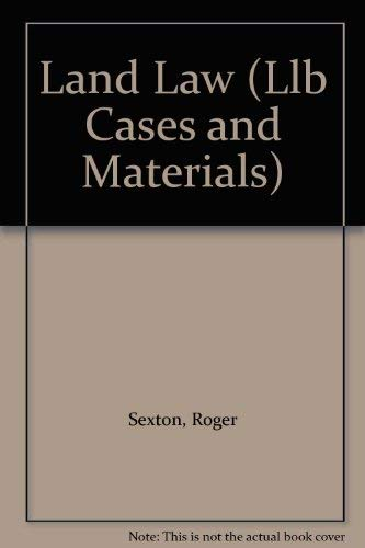 Land Law By Roger Sexton
