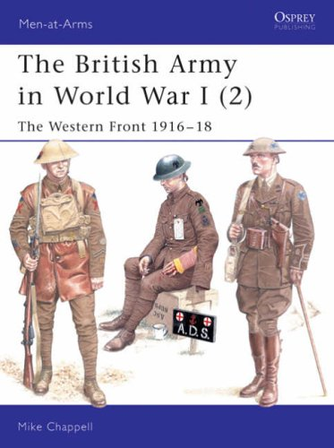 The British Army in World War I By M. Chappell
