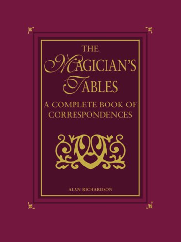 The Magician's Tables By Alan Richardson