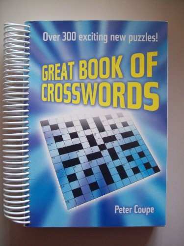 Great Book Of Crosswords By Peter Coupe