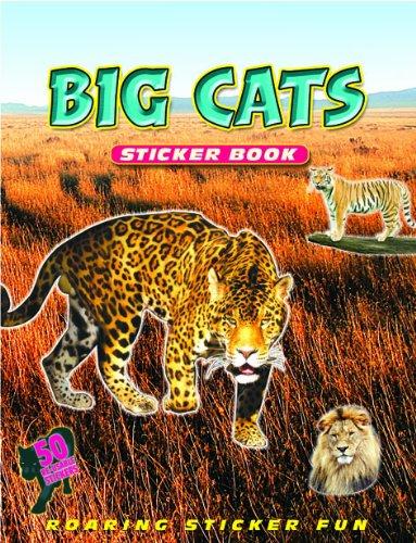 Big Cats Sticker Book