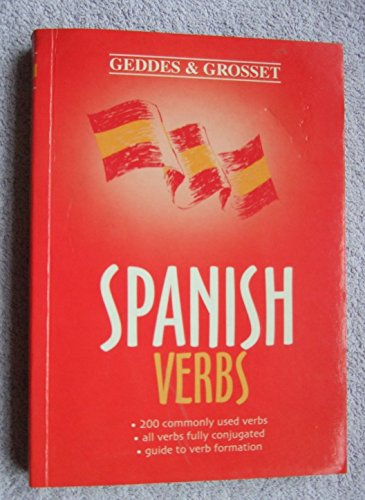 Spanish Verbs By Anon
