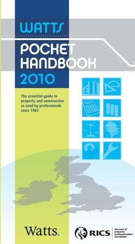 Watts Pocket Handbook 2010 By Watts Group Plc.