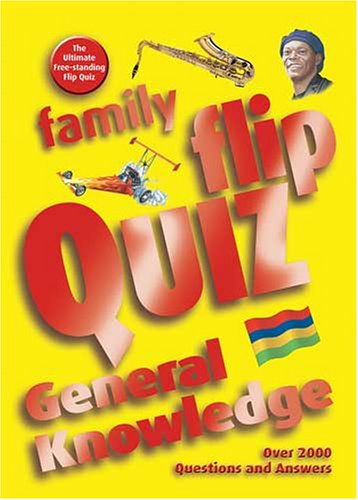 Family Flip Quiz: General Knowledge by Christopher Rigby