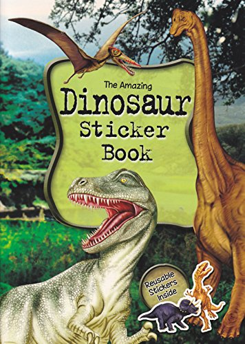 Dinosaur Sticker Book by