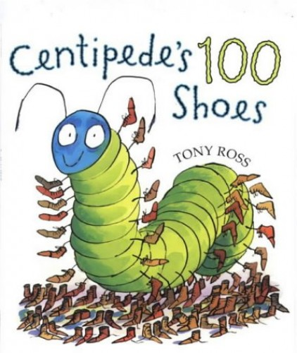 One Hundred Shoes By Tony Ross