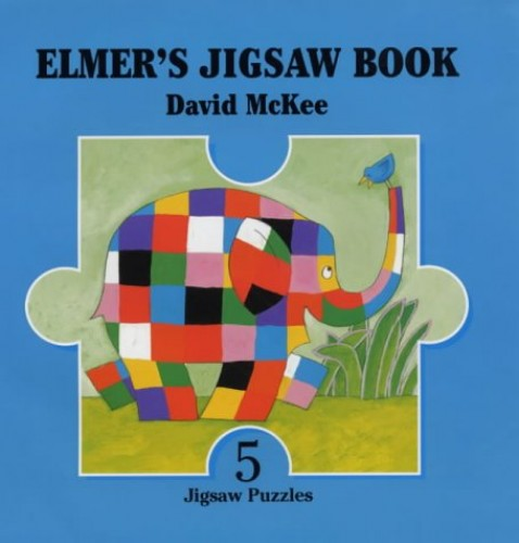 Elmer Jigsaw Book By David McKee