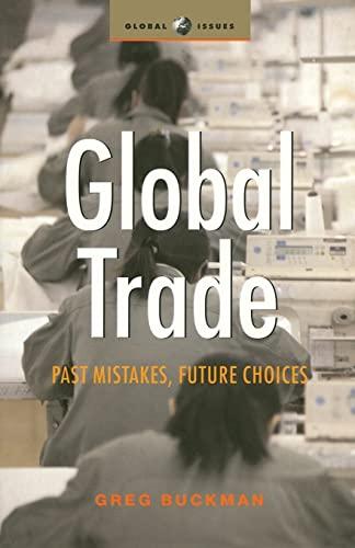Global Trade By Greg Buckman