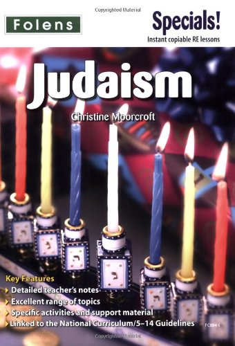 Secondary Specials! RE - Judaism By Christine Moorcroft