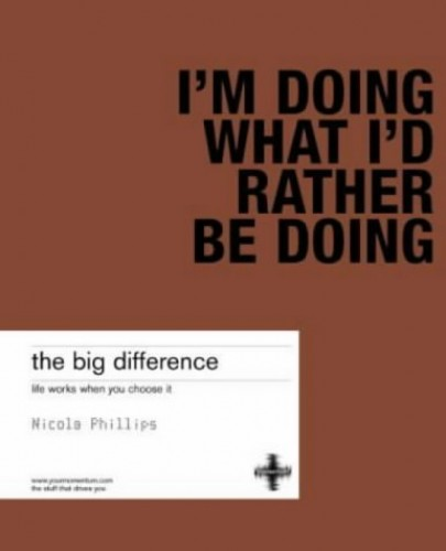 The Big Difference By Nicola Phillips