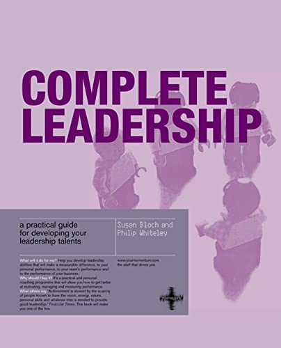 Complete Leadership By Susan Bloch