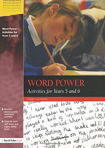 Word Power By Terry Saunders