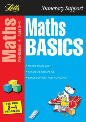 Maths Basics: Ages 3-4 by Paul Broadbent