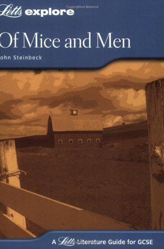of mice and men explores the Of mice and men also explores the way in which events can hinder the realization of one's dreams of mice and men essay of mice and men word count.