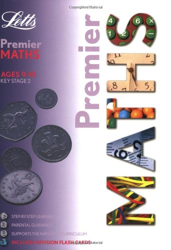 KS2 Premier - Maths (9-10) (Letts Premier) by Broadbent, Paul Paperback Book The