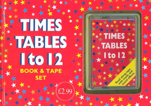 Times-Table-1-12-Book-amp-Tape-Set-1843220768-The-Cheap-Fast-Free-Post