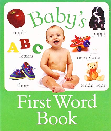 Baby's First Word Book By Nicola