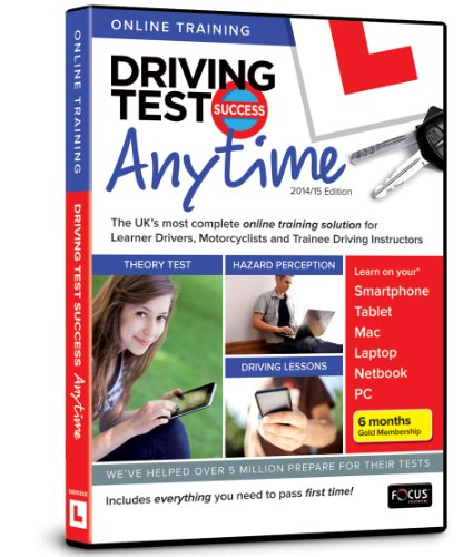 Driving Test Success Anytime 2014/15 Edition By Focus Multimedia