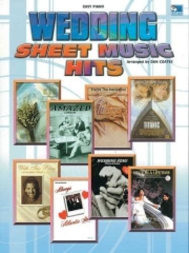 Wedding Sheet Music Hits By (music) Dan Coates