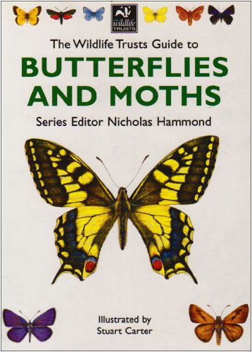 The Wildlife Trust's Guide to Butterflies and Moths By Nicholas Hammond