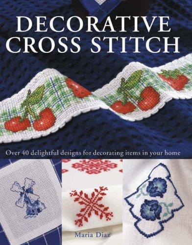 Decorative Cross Stitch By Maria Diaz