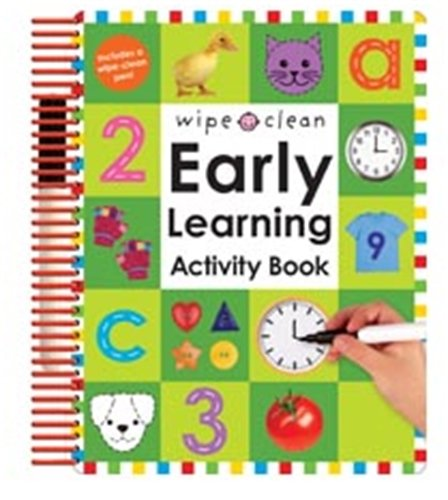 Early Learning Activity Book von Roger Priddy