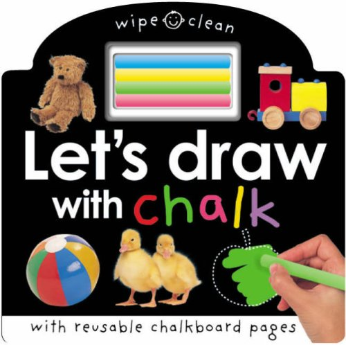 Let's Draw with Chalk By Roger Priddy