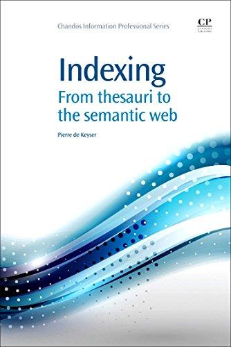 Indexing By Piet de Keyser (Katholieke Hogeschool Leuven, Belgium)