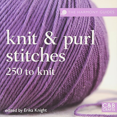 Knit and Purl Stitches By Erika Knight
