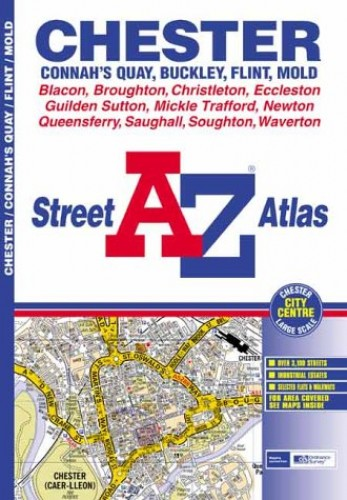 A-Z Chester Street Atlas by Geographers' A-Z Map Company