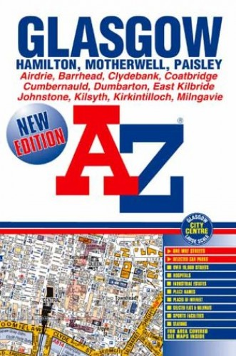 A-Z Glasgow Street Atlas by Geographers' A-Z Map Company