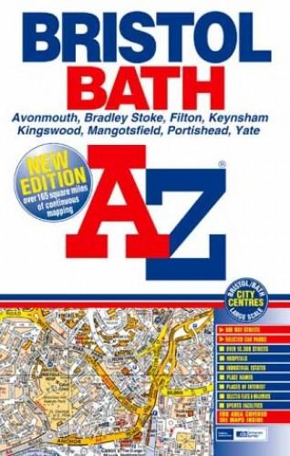A-Z Bristol and Bath Street Atlas by Geographers' A-Z Map Company