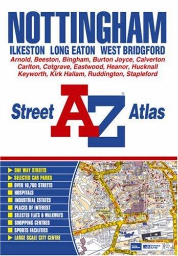 Nottingham Street Atlas (paperback) By Great Britain