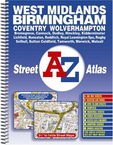 West Midlands Street Atlas By Great Britain