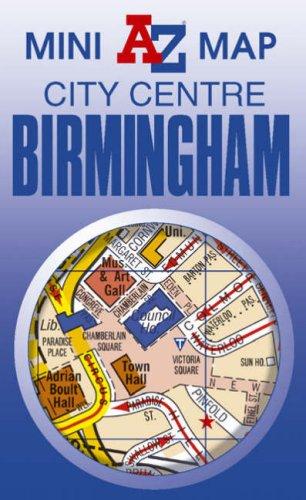 Birmingham Mini Map By Geographers A-Z Map Company